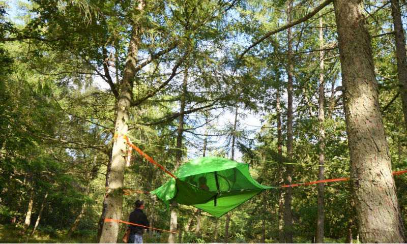 Tentsile combines the comfort and versatility of a hammock with the security and multi-person-occupancy of a tent. Their range of suspended shelters are ... & Tentsile Tents u2013 Into The Trees