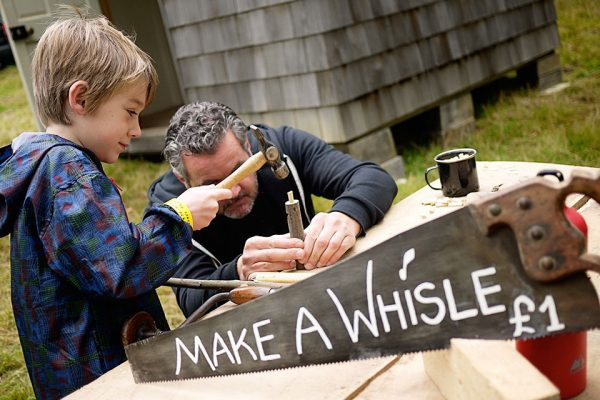 whistle-making
