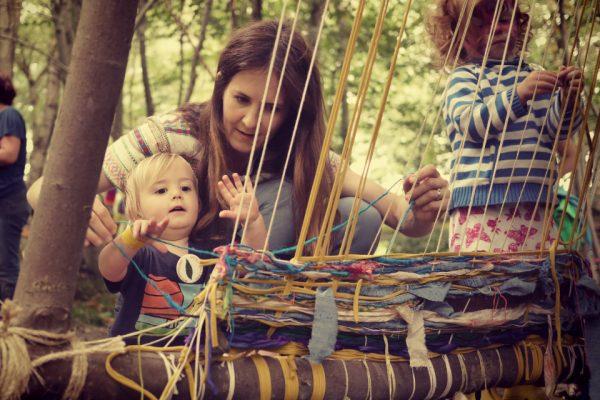 baby weaving